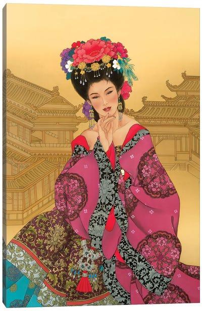 Empress Wu Canvas Art Print
