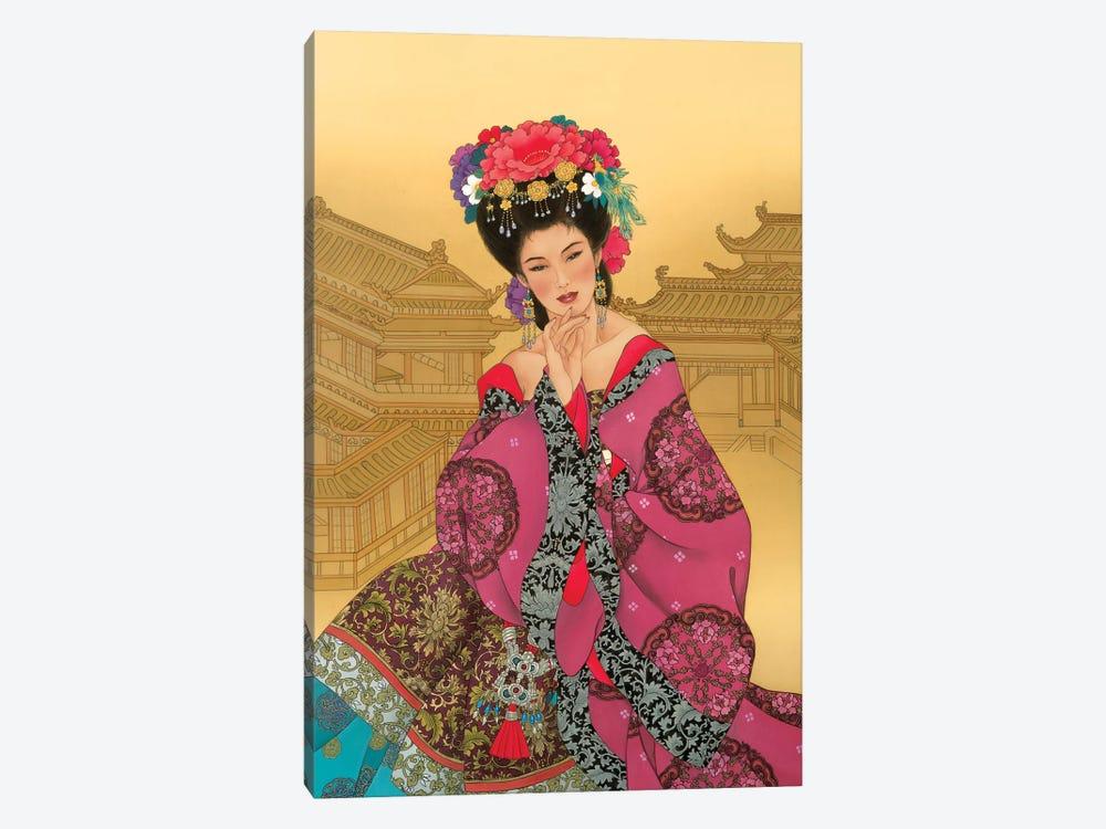 Empress Wu by Caroline R. Young 1-piece Canvas Artwork