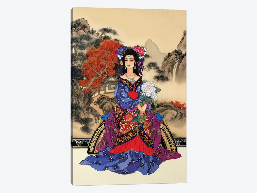 Enchantment by Caroline R. Young 1-piece Canvas Art Print
