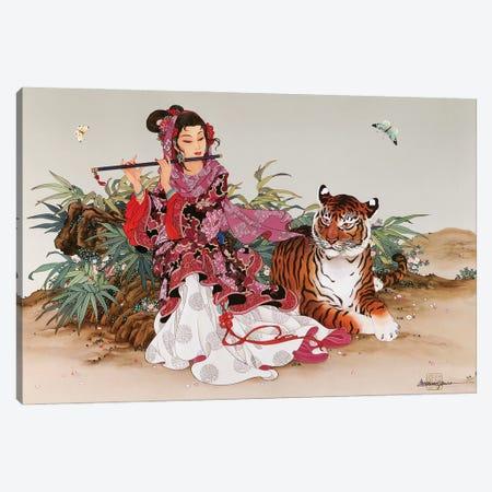 Immortal Melody Canvas Print #CYG22} by Caroline R. Young Canvas Art Print