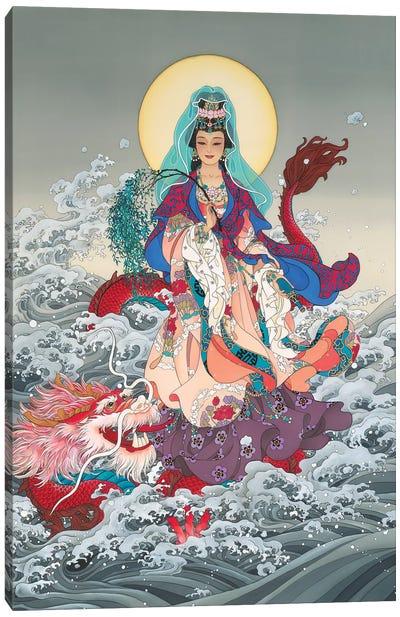 Kwan Yin Canvas Art Print