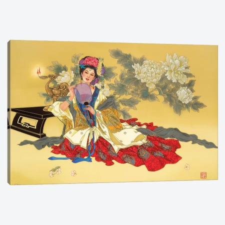 La Coquette Canvas Print #CYG24} by Caroline R. Young Canvas Wall Art