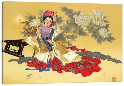 La Coquette Canvas Art Print
