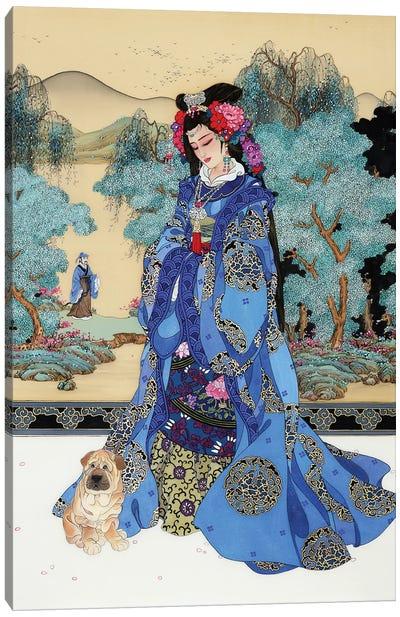 Lady Of Valor Canvas Art Print