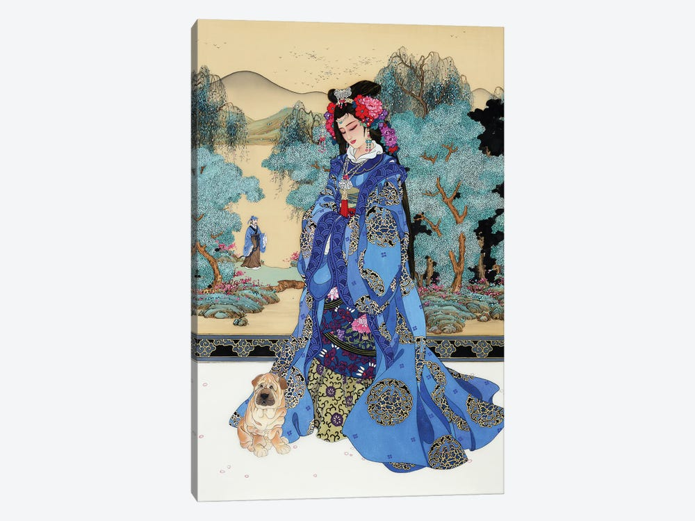Lady Of Valor by Caroline R. Young 1-piece Canvas Wall Art
