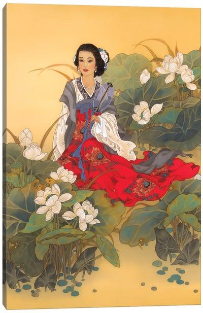 Lady Willow Canvas Art Print