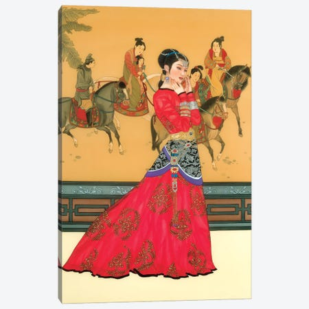 Li Wa Canvas Print #CYG27} by Caroline R. Young Canvas Art