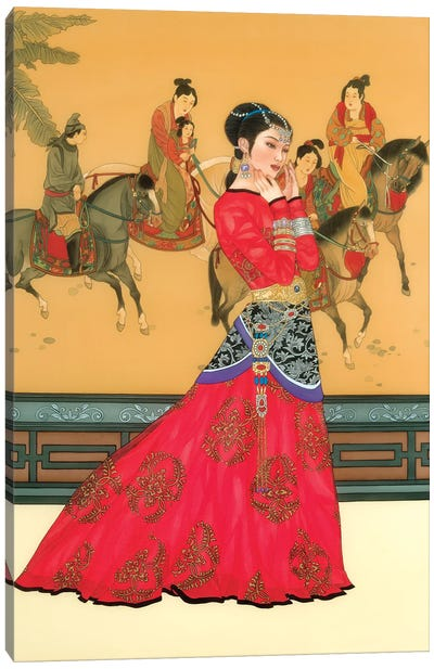 Li Wa Canvas Art Print