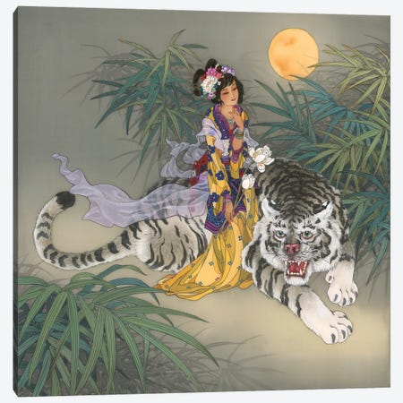 Miao Shan Canvas Print #CYG29} by Caroline R. Young Canvas Art Print