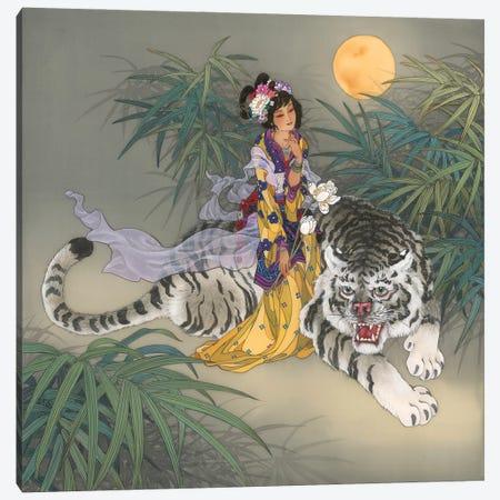 Miao Shan Canvas Print #CYG29} by Caroline R. Young Canvas Art Print