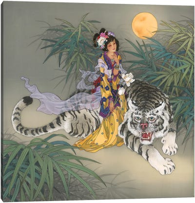 Miao Shan Canvas Art Print