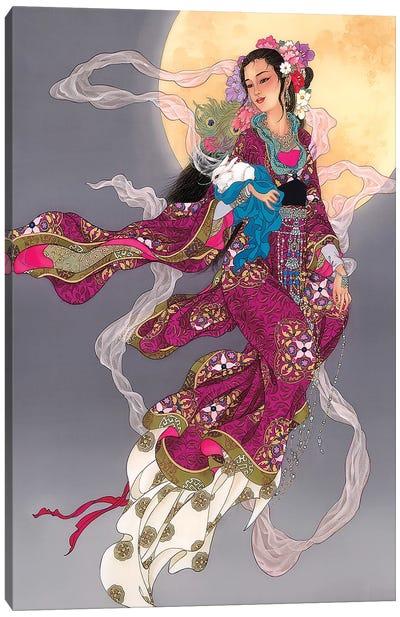 Moonrising Canvas Art Print