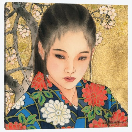 Noriko Canvas Print #CYG36} by Caroline R. Young Art Print
