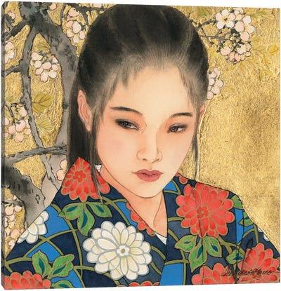 Noriko Canvas Art Print