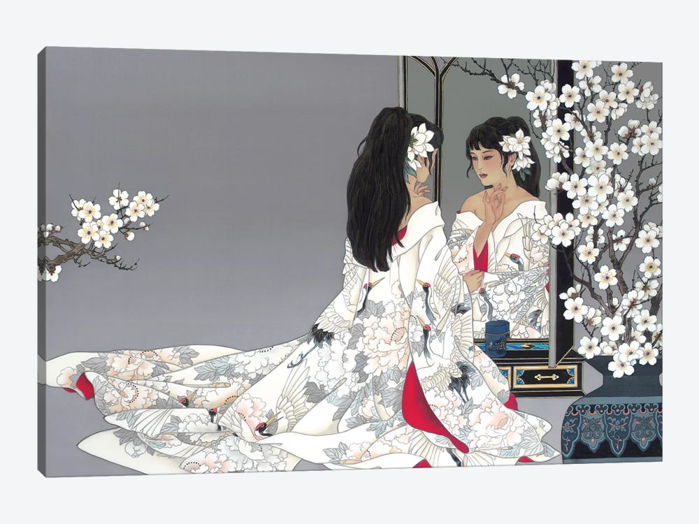 Reflections by Caroline R. Young 1-piece Canvas Art Print
