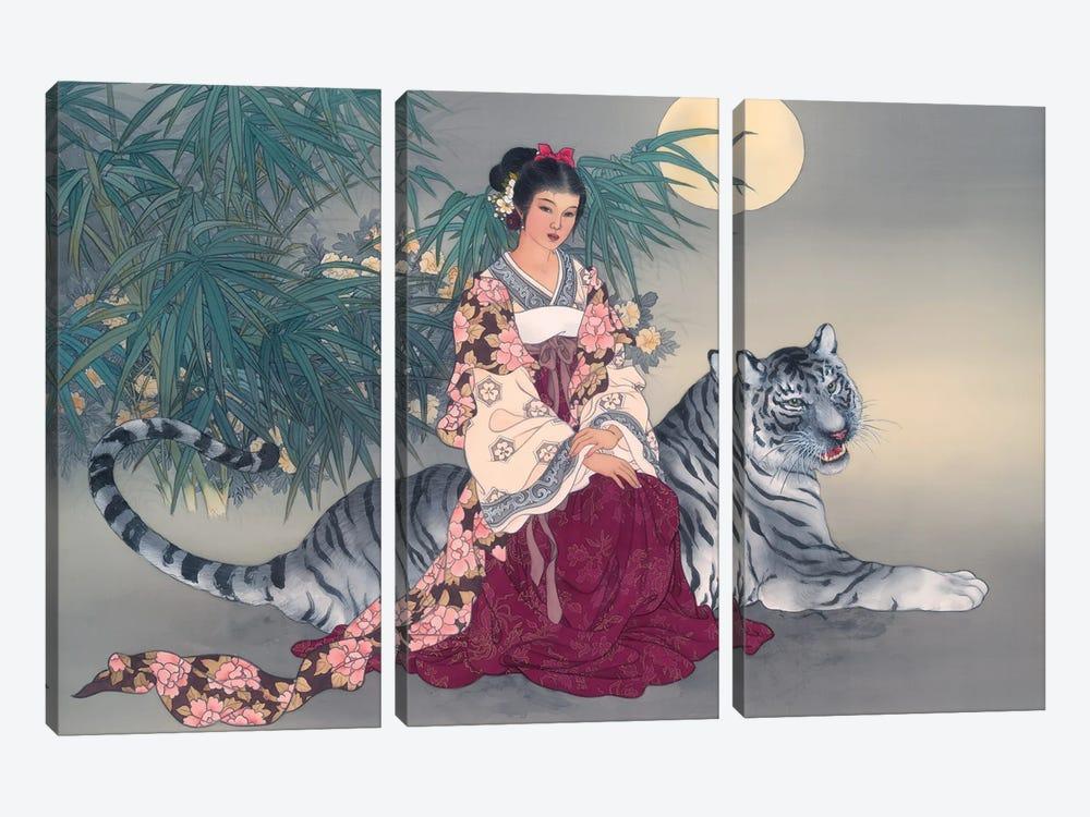 Spiritual Journey by Caroline R. Young 3-piece Art Print
