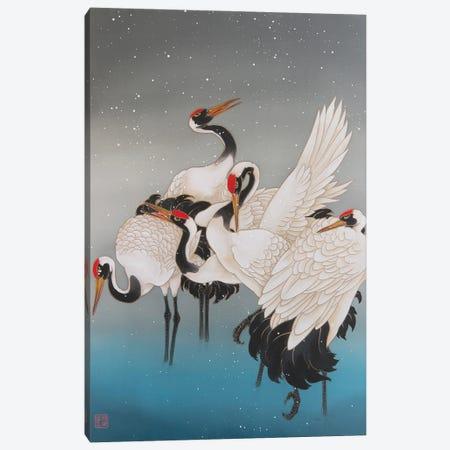 Winter In Hokkaido Canvas Print #CYG47} by Caroline R. Young Canvas Artwork