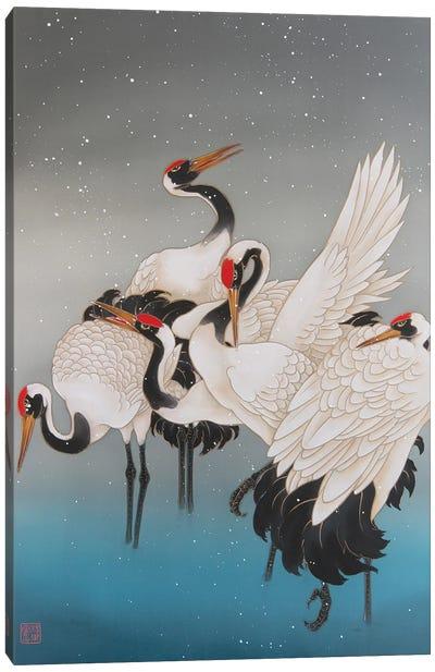 Winter In Hokkaido Canvas Art Print