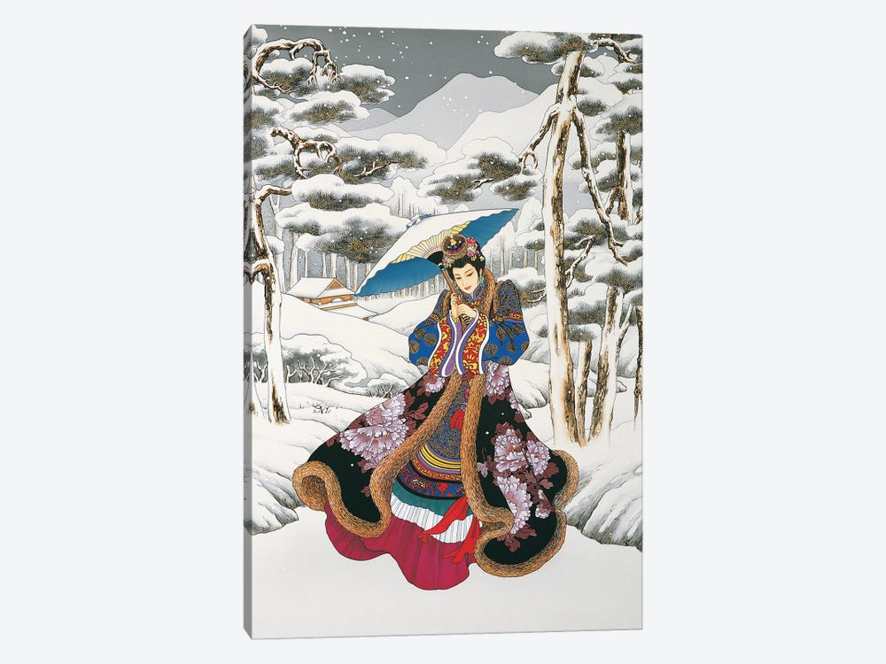 Winter Reverie by Caroline R. Young 1-piece Canvas Print