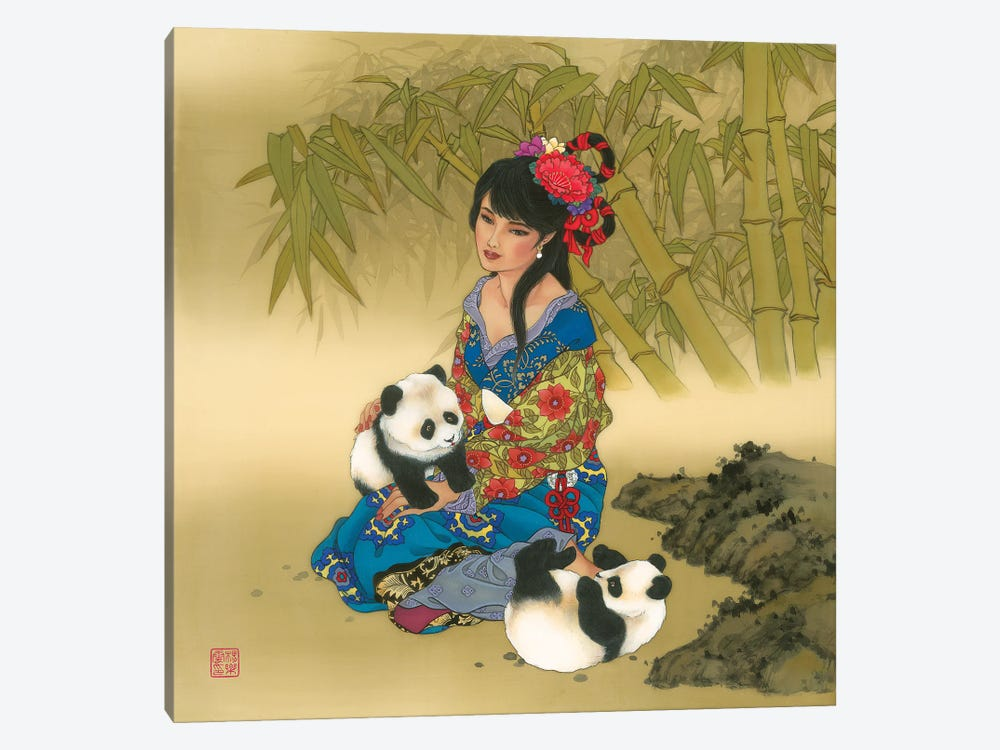 Wolong Valley by Caroline R. Young 1-piece Canvas Artwork