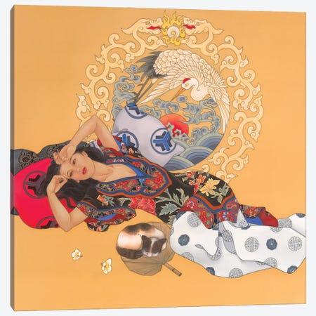 Dreaming Of Tomorrow Canvas Print #CYG52} by Caroline R. Young Canvas Art