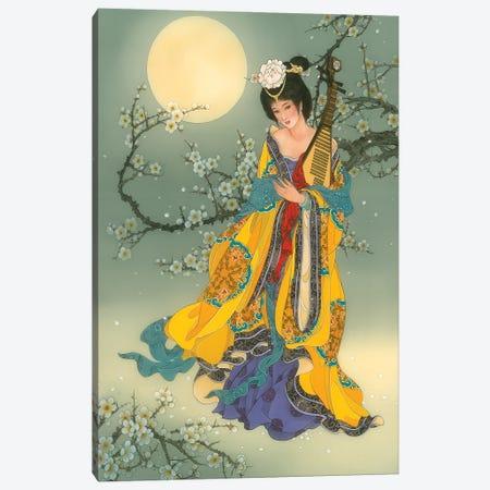 Mei Fei Canvas Print #CYG53} by Caroline R. Young Canvas Art