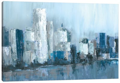Citylines Canvas Art Print