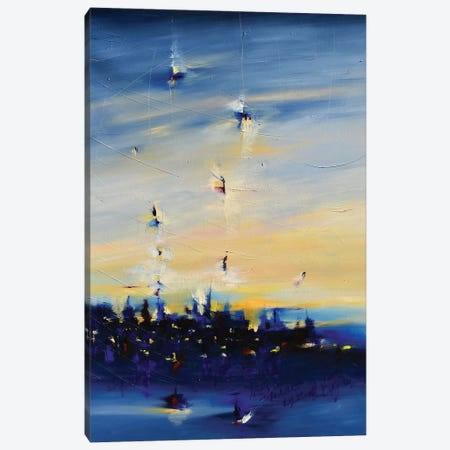 Spirit Of Night Canvas Print #CYL30} by Cynthia Ligeros Canvas Print
