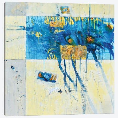 Take On The World Canvas Print #CYL55} by Cynthia Ligeros Canvas Wall Art