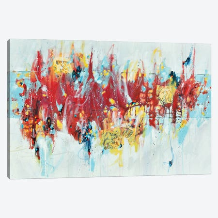 We Are Limitless Canvas Print #CYL62} by Cynthia Ligeros Canvas Artwork