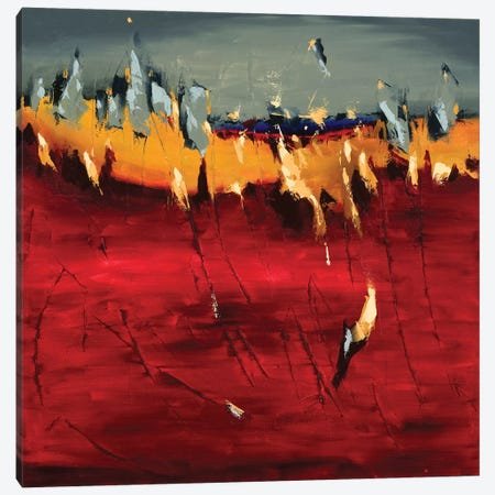 Embers Canvas Print #CYL6} by Cynthia Ligeros Canvas Print