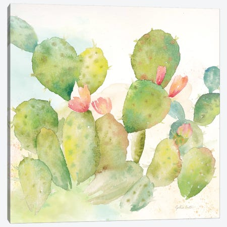 Cactus Garden I 3-Piece Canvas #CYN12} by Cynthia Coulter Art Print