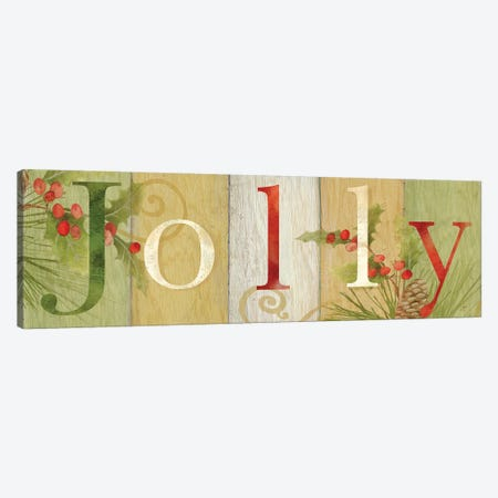 Jolly Rustic Sign III Canvas Print #CYN131} by Cynthia Coulter Canvas Art Print