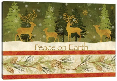 Peace on Earth Canvas Art Print