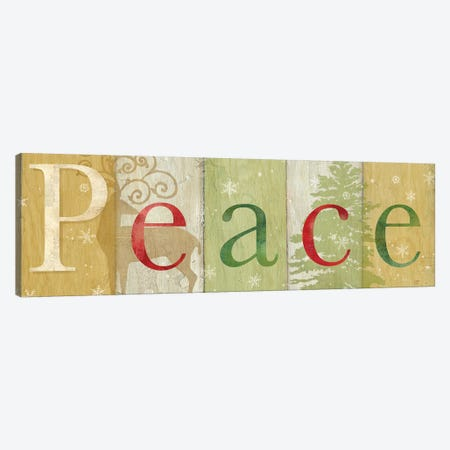 Peace Rustic Sign II Canvas Print #CYN139} by Cynthia Coulter Canvas Art Print