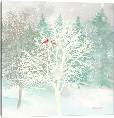 Winter Wonder I  Canvas Art Print