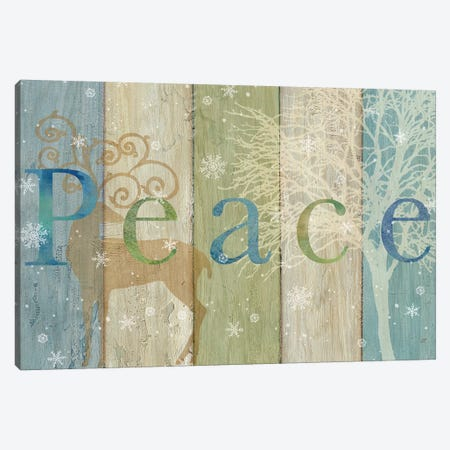 Woodland Peace Canvas Print #CYN152} by Cynthia Coulter Canvas Print