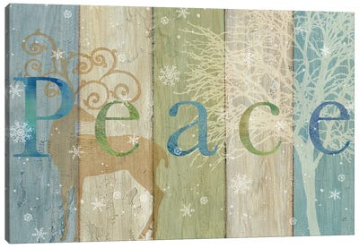 Woodland Peace Canvas Art Print