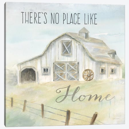 Farmhouse Sentiment  Canvas Print #CYN154} by Cynthia Coulter Canvas Artwork