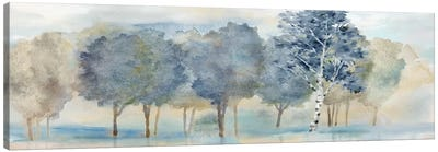 Treeline Reflection Panel Canvas Art Print