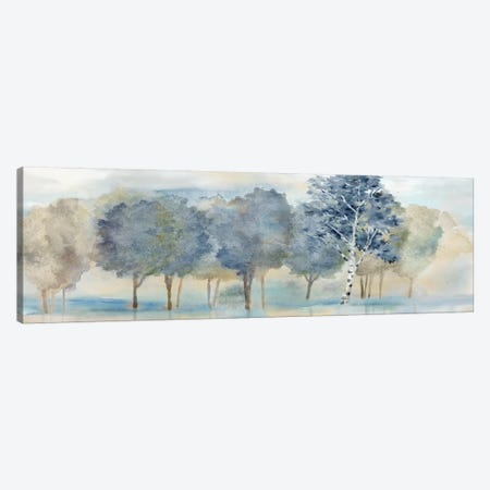 Treeline Reflection Panel Canvas Print #CYN162} by Cynthia Coulter Canvas Artwork