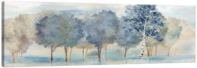 Treeline Reflection Panel Canvas Art Print