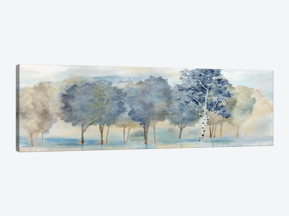 Treeline Reflection Panel by Cynthia Coulter 1-piece Canvas Art Print