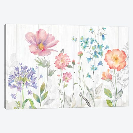 Farmhouse Botanical Garden 3-Piece Canvas #CYN187} by Cynthia Coulter Canvas Art Print