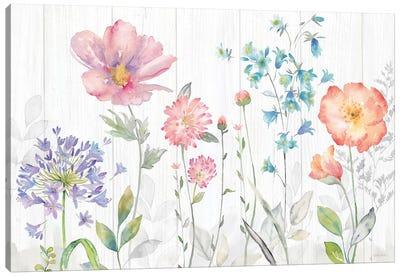 Farmhouse Botanical Garden Canvas Art Print