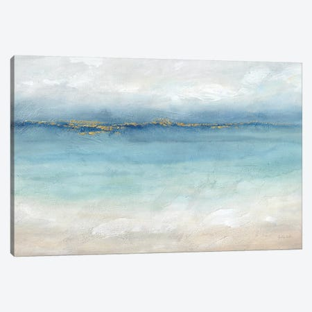 Serene Sea Landscape Canvas Print #CYN194} by Cynthia Coulter Canvas Artwork