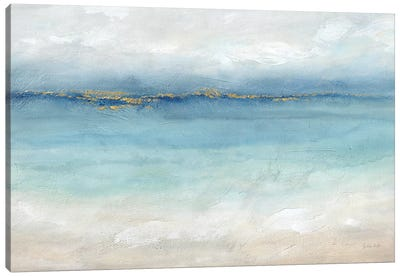 Serene Sea Landscape Canvas Art Print