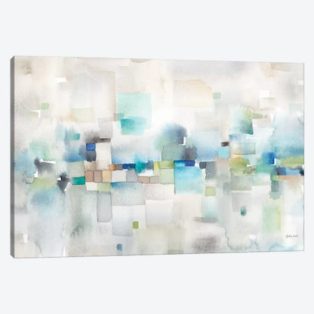 Cityscape Abstract Canvas Print #CYN19} by Cynthia Coulter Art Print