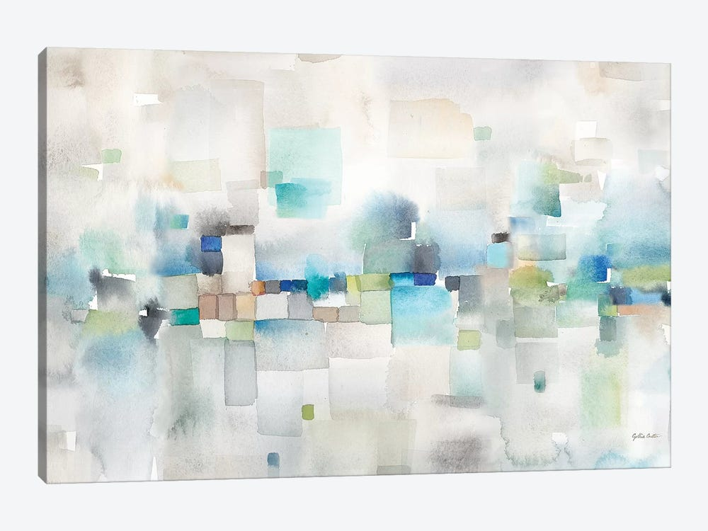 Cityscape Abstract by Cynthia Coulter 1-piece Canvas Print