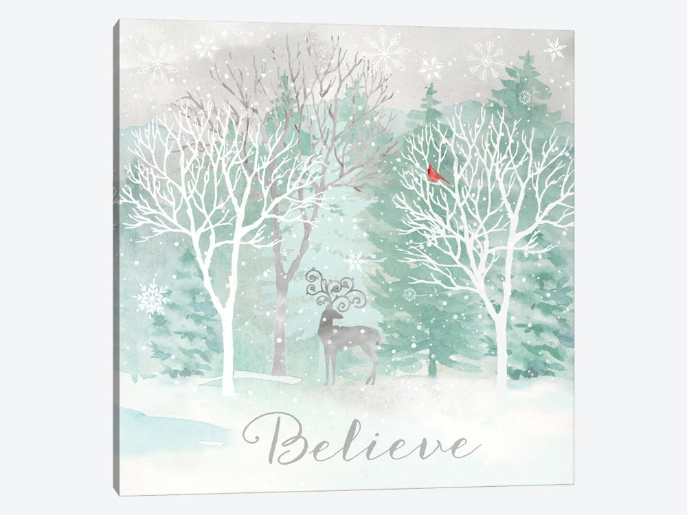 Peace on Earth Silver I by Cynthia Coulter 1-piece Art Print